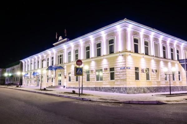 Здание Администрации г. Мензелинск